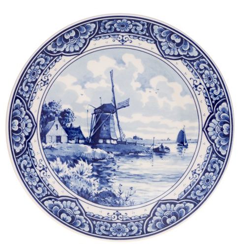 Delftsblauw bord handgemaakt