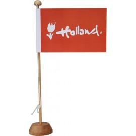 Tafelvlaggetje Holland logo