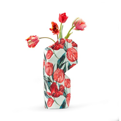 Paper Vase Tulips - Large