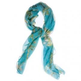 Van Gogh Zijden sjaal Amandelbloesem