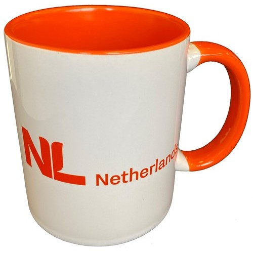 Mok oranje NL Netherlands