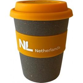 Bamboe koffiebeker NL Netherlands