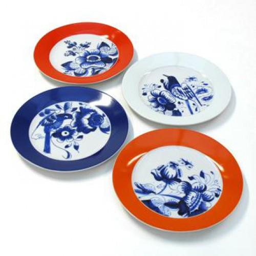 Hollandsblauw bordjes