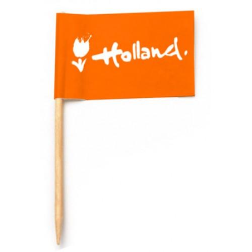 Cocktailprikkers Holland vlag