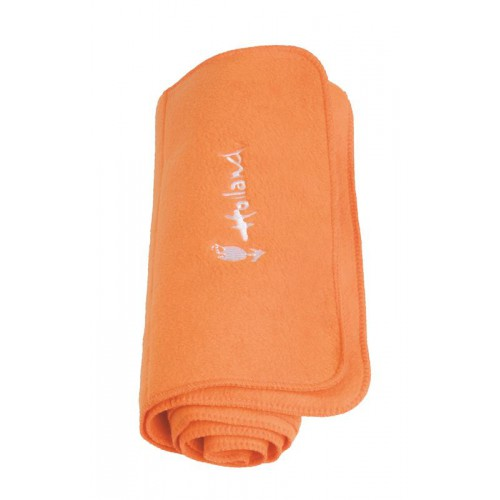Fleece sjaal oranje