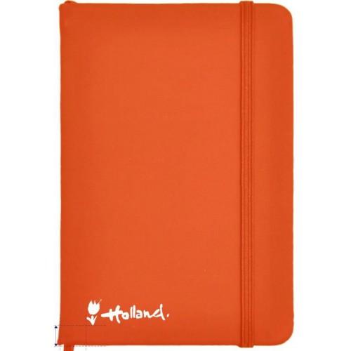Notitieboekje oranje A5