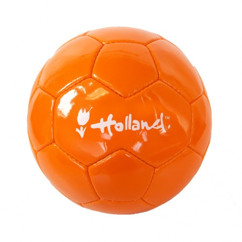 Voetbal oranje met wit Holland logo