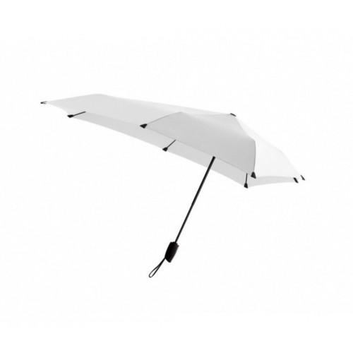 Senz paraplu inklapbaar automatic wit