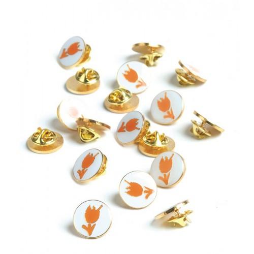 Pins Tulp Oranje