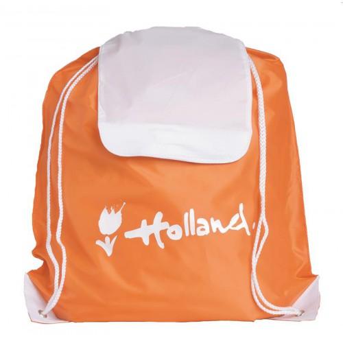 Rugzakje oranje Holland